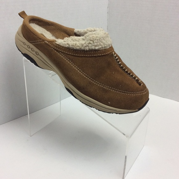 3e81d22ebefdd2 Easy Spirit Shoes   Es Travel Wind Suede Mules Size 75   Poshmark